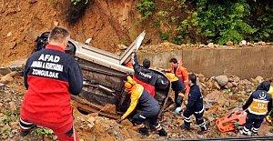 Bartınlı Madenciler Kaza Yaptı:...