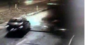 2 kişinin öldüğü tren kazası güvenlik kamerasında