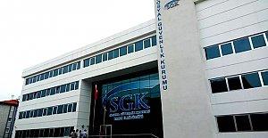 SGK Yeni Binasında...