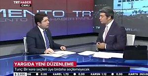 Tunç TRT Haber'de...
