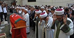 Şehit imam Kumluca'da toprağa verildi