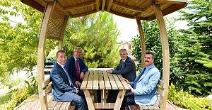 Vali Dirim'den Rektör Kaplan'a Ziyaret