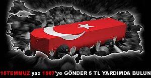 15 Temmuz Şehitleri Dayanışma Kampanyası