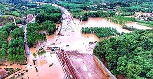 Sel Felaketi Havadan Böyle Görüntülendi