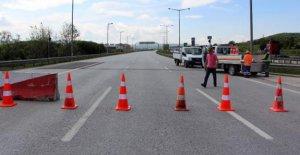 TEM Otoyolu Bolu kesimi trafiğe kapatılıyor