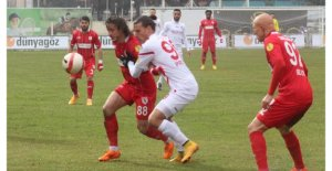 Boluspor-Samsunspor: 2-1