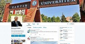 Twitter'da sahte rektör hesabına soruşturma
