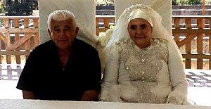 50 yıllık evli çift,...
