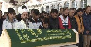 Öldürülen ünlü balıkçı için cenaze töreni
