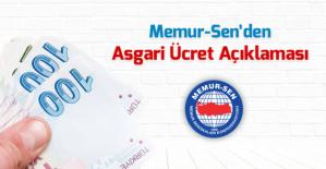 Asgari Ücret yeniden büyük Türkiye hedefine yakışmıyor