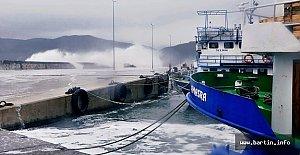 Meteoroloji'den kuvvetli lodos ve fırtına uyarısı