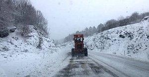 Bartın'da Yoğun Kar Yağışı
