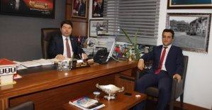 Ulus İlçe Milli Eğitim Müdüründen Tunç'a Ziyaret