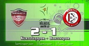 Bartınspor Eskişehir'den Puansız Dönüyor: 2-1