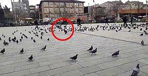Cumhuriyet Meydanında Gerilim Dolu Anlar