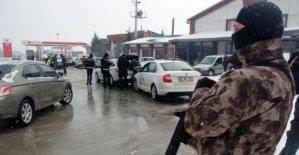 Polisten 15 Şubat önlemi