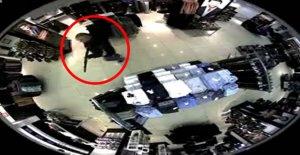 Pompalı tüfekle mağaza baskınına tutuklama