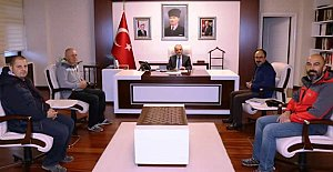 Pedaldaşlar'ın Yeni Yönetiminden Vali'ye Ziyaret