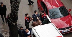Polise direnen 3 kişi, gözaltına alındı