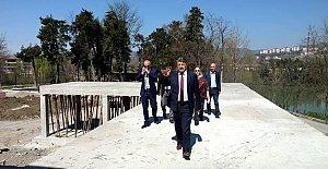 Gazhane Kültür Parkı Yükseliyor
