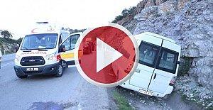 İşçi servisi su kanalına düştü: 8 yaralı