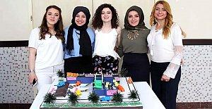 Genç mühendislerden proje sergisi