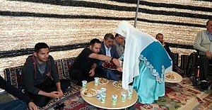 Karaçay#039;da Oba Çadırları Kuruldu