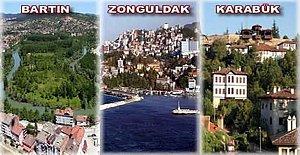 Rakamlarla Bartın, Zonguldak, Karabük