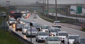TEM'in Ankara yönü 20 gün kapalı