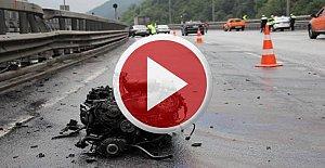 Tünel çıkışında kaza: 3 yaralı
