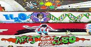 YİBO Duvarları Sanat Galerisine Dönüştü