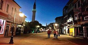 İşte Caddenin Yeni Gece Görüntüsü
