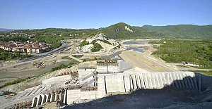 Kozcağız Barajı Yükseliyor