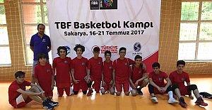 10 Sporcumuz TBF Basketbol Kampı'na Katıldı