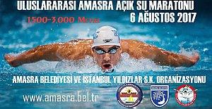 Amasra'da Uluslararası Yüzme Maratonu Düzenlenecek