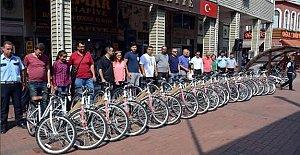 Belediyeden 43 polise bisiklet