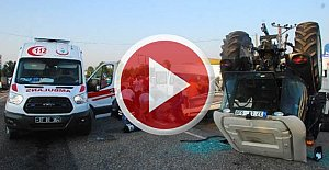 Kadın işçileri taşıyan minibüs ile çekici çarpıştı: 1 ölü, 6 yaralı