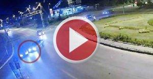 Kaza yapıp kaçan alkollü sürücü yakalandı