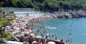 Mavi bayraklı plaj, Akdeniz sahillerini aratmadı