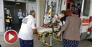 7 yaşındaki çocuk silahla oynarken başından yaralandı