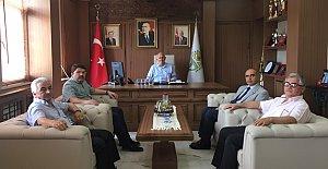 Tunç'tan Başkan Karaman'a Ziyaret