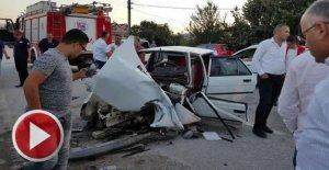Feci kaza: 11 aylık bebek öldü, 5 yaralı