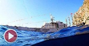 Emektar Gemi TCSG 127 Batırıldı