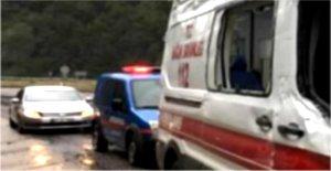 Feci Kazada Motosiklet Sürücüsü Öldü