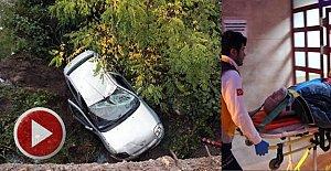 Hastane yolunda feci kaza: 2 yaralı
