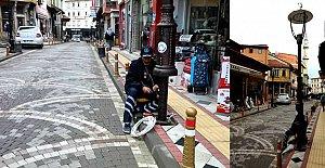 Su Terazisi Sokak#039;a Led Aydınlatma