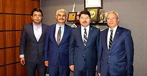 Tüm Karadenizliler Derneğinden Tunç'a Ziyaret