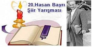 20.Hasan Bayrı Şiir Yarışması Sonuçlandı