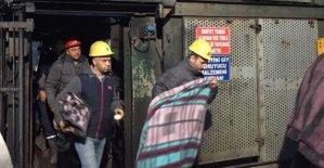 Amasra'da Madencilerin Eylemi Sona Erdi