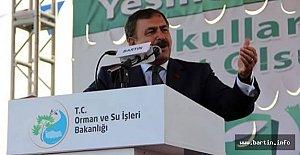 Bakan Eroğlu Bartın'a Geliyor